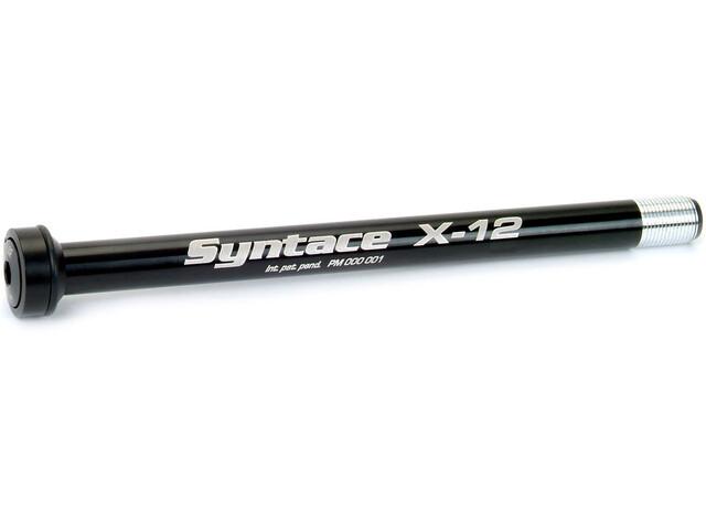 Syntace X-12 Schnellspann-Steckachse 197 raceblack